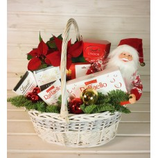 """Корзина новогодняя """"Санта"""""""