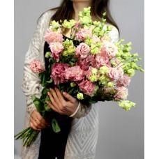 Лизиантус розовый махровый
