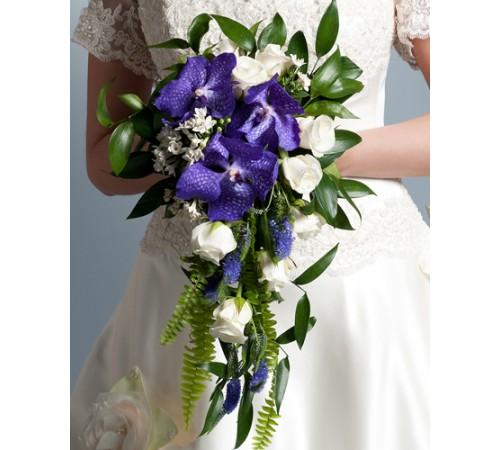 Свадебный букет  невесты№2 (МарьеВиолет)