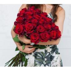 Букет из 25 Элитных роз Explorer (Эквадор)