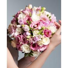 Свадебный букет невесты №1 (МарьеРоз)