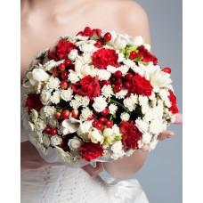 Свадебный букет невесты №3 (МарьеРуж)