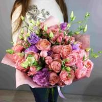 Букет Джульетта из пионовидной розы
