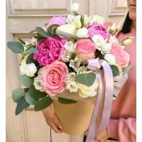 Цветы в шляпной коробке Вена