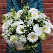 Букет Белые орхидеи