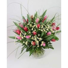 Букет с тюльпанами Настроение
