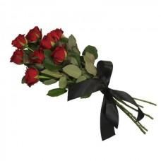 Розы на возложение 8 шт