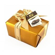 Набор шоколадных конфет в золотой подарочной упаковке 110 гр.