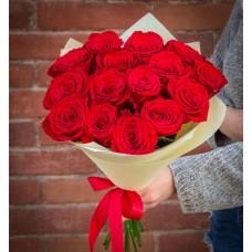 15 Элитных красных роз (Эквадор)