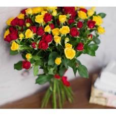 15 кустовых роз Микс-1