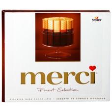 Конфеты Merci темный шоколад 250г