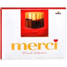 Merci шоколадные конфеты ассорти, 250 гр